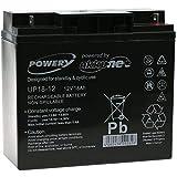 Powery Batería de Gel 12V 18Ah