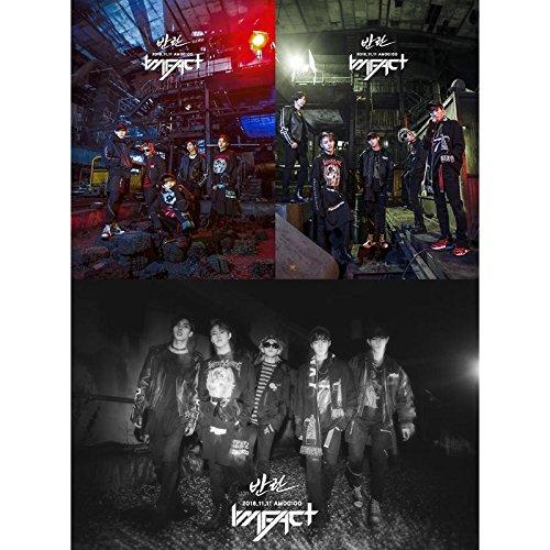 IMFACT-[REBELLION/斑爛] 2nd Single Album CD+76p PhotoBook+1p PhotoCard K-POP Sealed