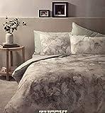 Zucchi - Bettwäsche-Set für Doppelbett aus warmer Baumwolle.