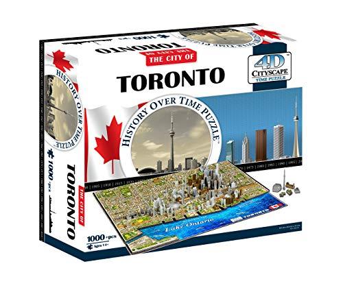4D Paisaje Urbano 40016 - Toronto Rompecabezas | 4D del Paisaje Urbano