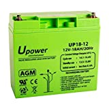 Master U-Power UP - Batería Plomo AGM 18Ah 12V