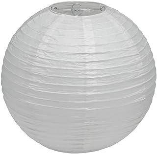 Papier abażur lampy 30 cm biały