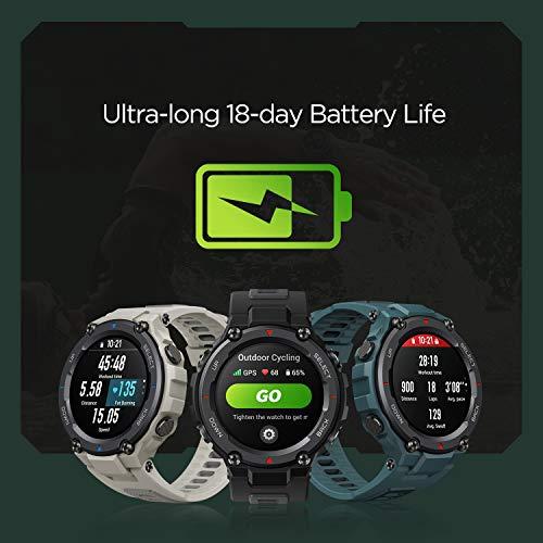 Amazfit T-Rex Pro Smartwatch Orologio Intelligente Fitness Schermo AMOLED da 1,3