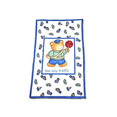 Perfectly Preemie Blanket (Two Way Traffic)