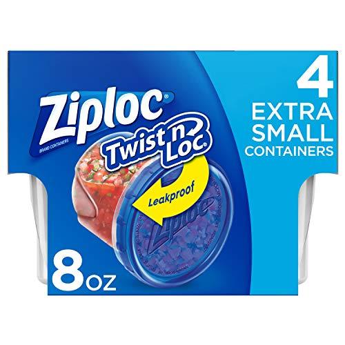 Ziploc Twist N Loc, Extra Small, 4 ct, 6 pack