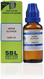 SBL Homeopathy Hepar Sulphur (30 ML) (Select Potency) (200 CH)