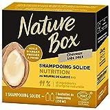 Nature Box – Shampooing Solide Nutrition Argan– Cheveux très secs – 85g