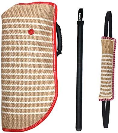 Dog Bite Training Set Dog Bite Sleeve Dog Bite Pillow Tug Toy Dog Training Stick Professional product image