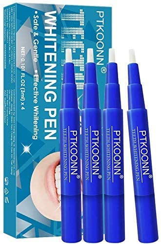 Zahnaufhellung Gel,Bleaching Stift,weiße zähne stift,Teeth Whitening Pen,Bleaching zähne,tragen und zu verwenden,Flecken schnell und effektiv entfernen,4PC.