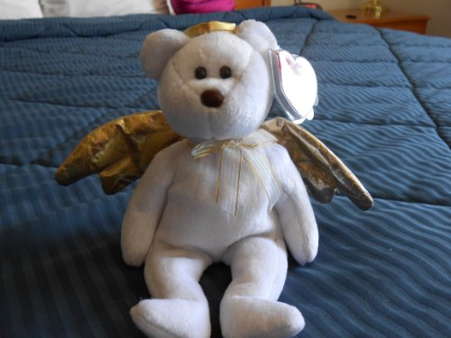 Yours Truly Hallmark Gold Crown Exclusive TY2003 Ty Beanie Baby Bear