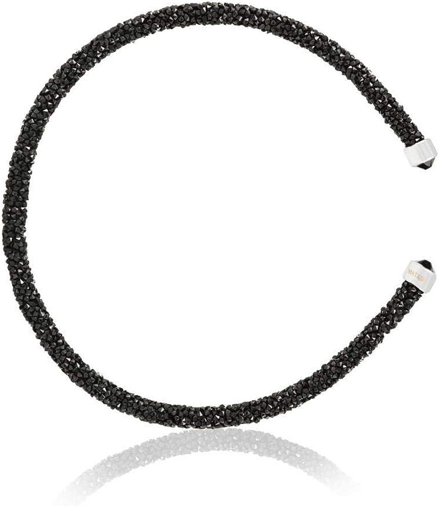Matashi Krysta Collection Bangle Bracelet Cuff Multi Color