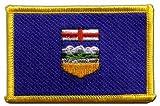Flaggen Aufnäher Kanada Alberta Fahne Patch + gratis