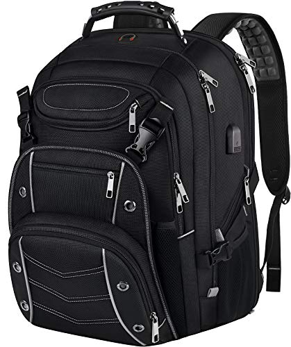 18.4 Laptop Backpack for Men, 55L Extra Large Gaming Laptops Backpack...