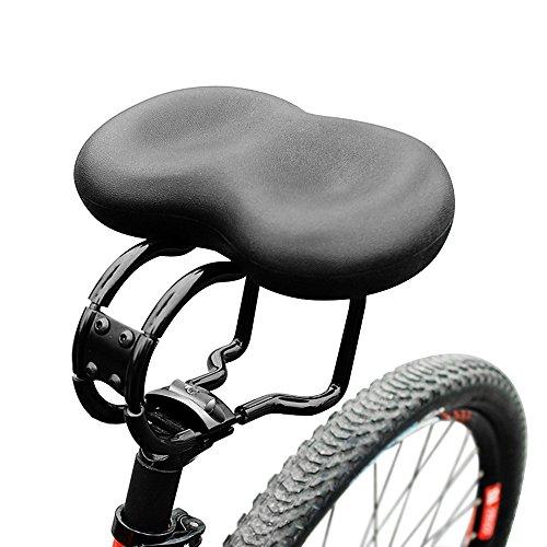 Selle VTT Conception Antichoc - Selle Vélo de Route Cushion Large Selle VTT - Selle de Bicyclette Vélo - Convient pour les Sièges de Vélos Ordinaire et les Vélos de Route - Vendu Par Hokonui