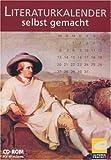 Literaturkalender selbst gemacht