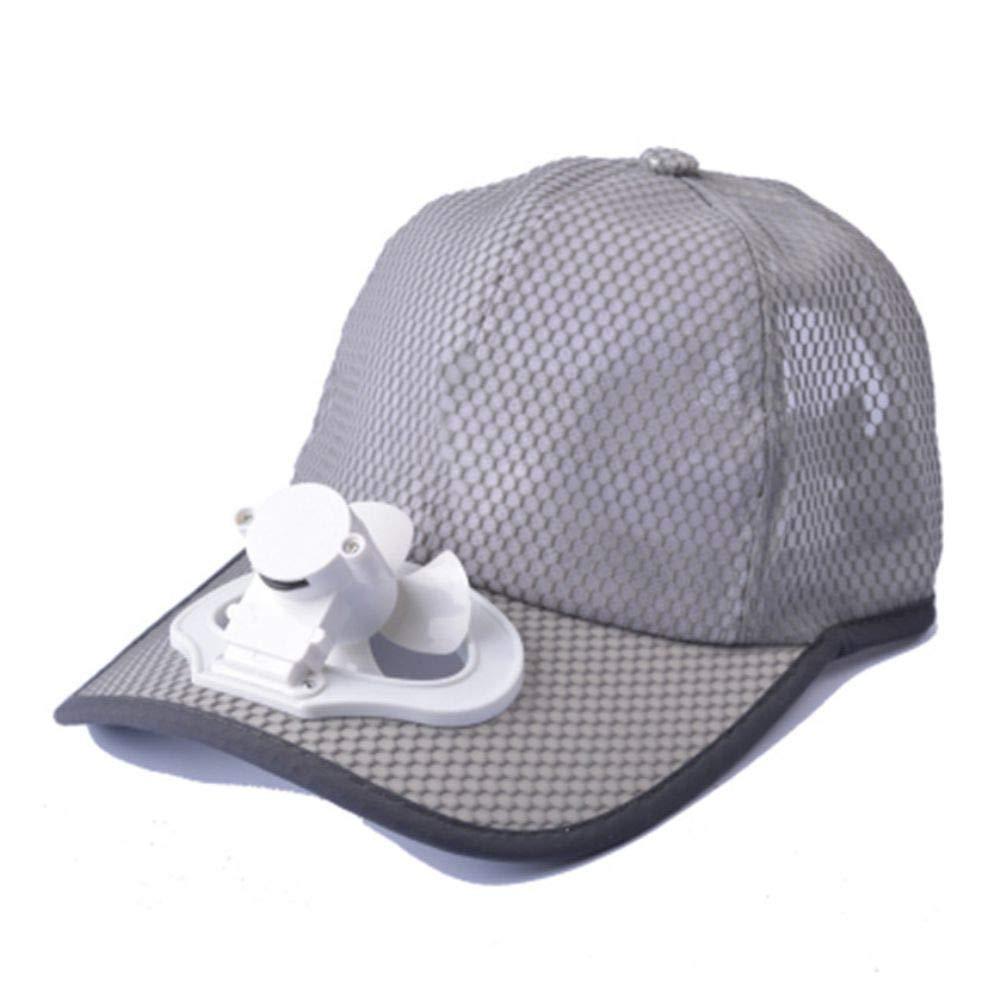 StaHomily Sun Visor Hat Cooling Hat Ventilador de Carga USB Unisex ...