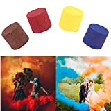 Furnnism 4PC Smoke Cake,Photography Smoke Props Colorful Effect Smoke Tube Bottle Studio Car Photography Toy Wedding Photo Effect Party Decoration Wedding Halloween