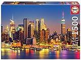 Manhattan en la noche 1500 piezas Puzzle