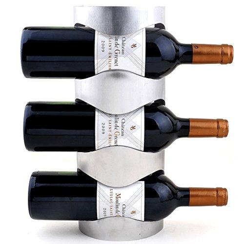 WR1 ワインラック ホルダー 3本収納 4本収納 ワイン シャンパン ボトル 収納 ケース スタンド インテリア ...