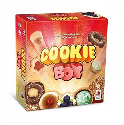 Asmodee- Cookie Box, Multicolore, 8165