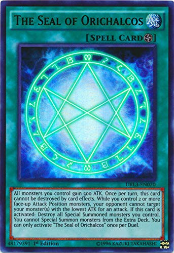 Yu-Gi-Oh! - The Seal of Orichalcos (DRL3-EN070) - Dragons of Legend: Unleashed - 1st Edition - Ultra Rare by Yu-Gi-Oh!