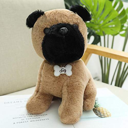 New HuggableKawaii Plüschtier Tiere Simulation Teddy Dog Lady Gefüllte Spielzeugpuppen Geburtstagsgeschenk Weihnachtsspielzeug Für Kinder 22cm