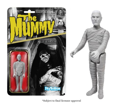 ReAction [Importacion Ingles] Funko Universal Monsters Momia Figura 03 de Marzo / 4-Pulgadas Accion Retro