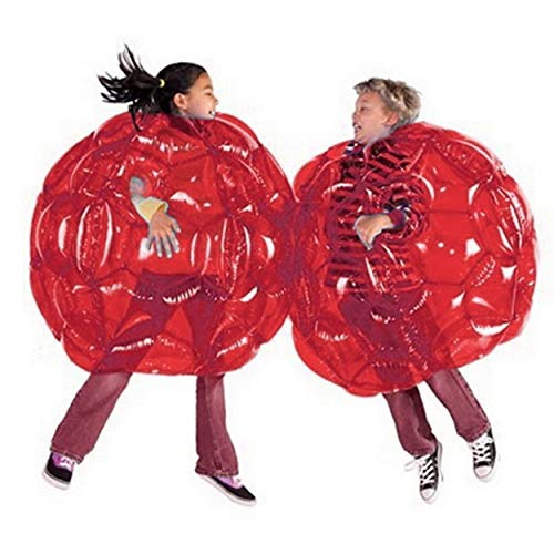 Lorenlli Cuerpo Inflable Bumper Balls Bubble Soccer se Adapta a Mucho PVC Funny Body Zorb Ball para niños 24'