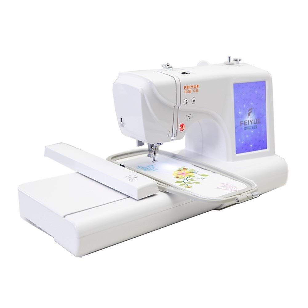 KPPTO Gran pantalla de inicio de coser y bordar Máquina de ...