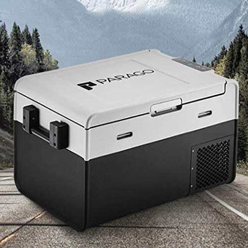 GAOXIAOMEI Refrigerador Portátil con Congelador para Automóvil De 35 Cuartos (34 litros) Refrigerador De Viaje para Vehículos, Conducción De Camiones, Pesca, Picnic, Camping, Familiares, Amigos