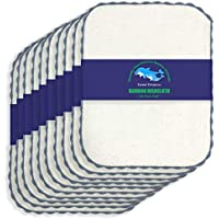 10-Pack Sweet Dolphin Bamboo Kitchen Dishcloths