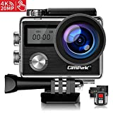Campark X20 Action Camera 4K Ultra HD 20MP with EIS Stablization Touch Screen - Best Reviews Guide
