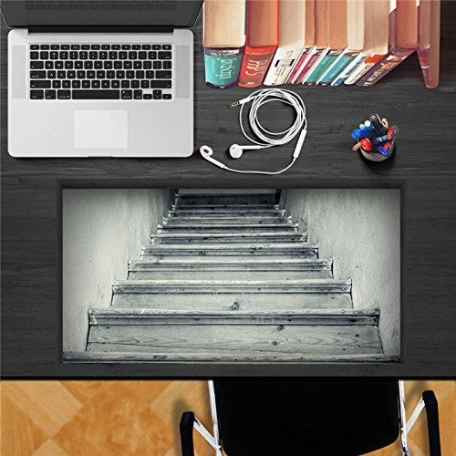 Paleo Escalera antigua pag etiqueta adhesiva 3ras etiquetas de la pared de la etiqueta adhesiva del escritorio regalo de decoración de la mesa del escritorio de la pared de casa: Amazon.es: Hogar