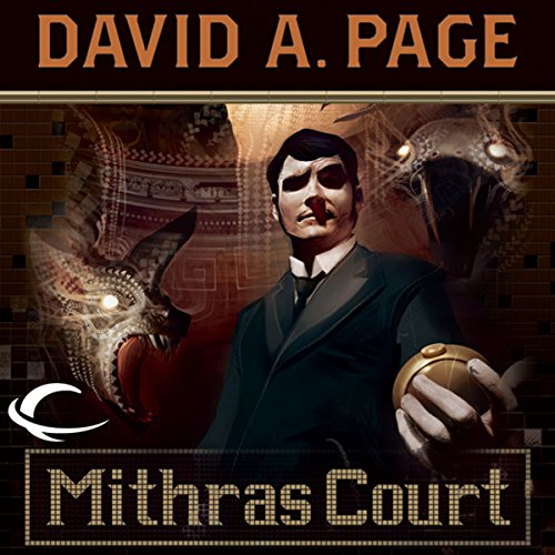 Mithras Court audiobook cover art