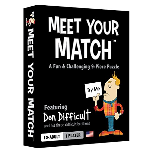 Loaded Questions Meet Your Match (The Fun & Challenging Nine-Piece Puzzle)