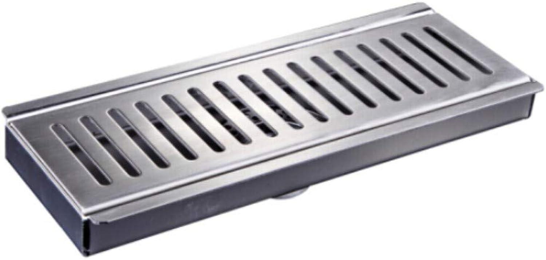 Floor Drainlong Floor Drain Strip Type Stainless Steel Thickening Deodorant Anti-Backwater