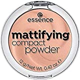 ESSENCE Mattifiying compact powder polvos matificantes  04 Perfect Beige