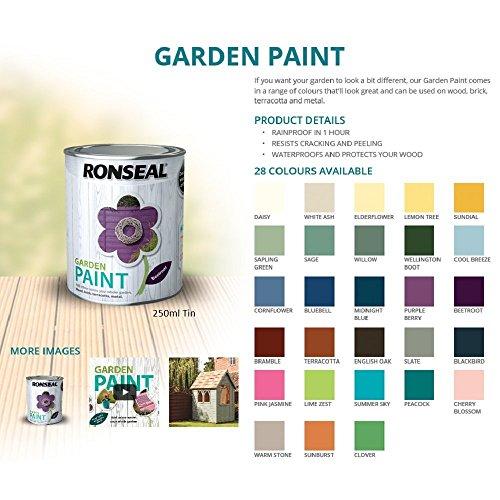 Ronseal RSLGPCDB250 GPCDB250 Garden Paint Cool Breeze 250ml, 250 ml