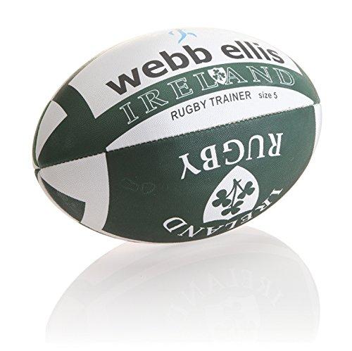 Webb Ellis Herren Ball mit Irlandfahne grün grün Midi