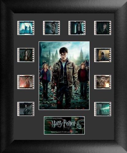Trend Setters Ltd Afiche Enmarcado con Doble Tira de película, película Harry Potter 7 Parte 2, S3 de Pieza Doble película
