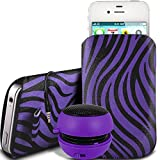 N4U Online - Nokia Lumia 920 PU Leder Schutz Zebra-Entwurf