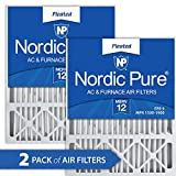 Nordic Pure 20x25x5 MERV 12 Pleated Honeywell Replacement AC Furnace...
