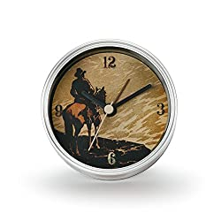 DEMDACO Big Sky Carvers Cowboy Clock-n-Can