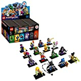 LEGO Minifigures DC Super Heroes Series 71026 Collectible Set (60 Mystery Bags), Featuring Characters from DC Universe Comic Books, New 2020 (Full Case Pack)