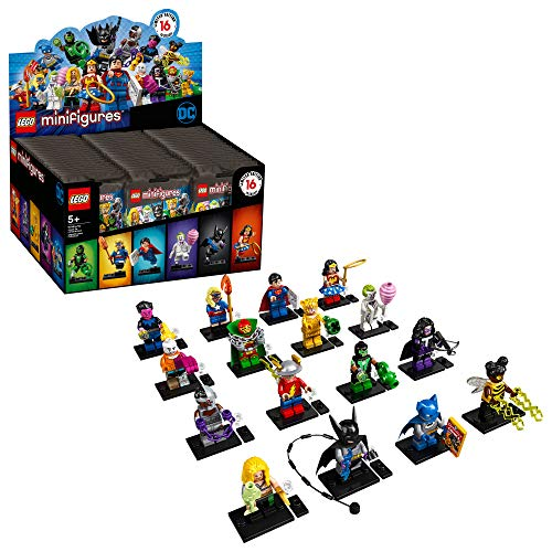 LEGO Minifigures DC Super Heroes Series 71026 Collectible Set (1 of 16 to Collect) Featuring Characters from DC Universe Comic Books, New 2020 (Single Mystery Bag)