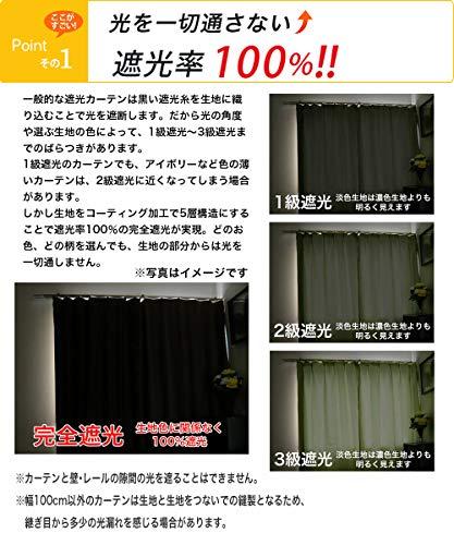 アルマック満天カーテン『遮光カーテン4枚セット』