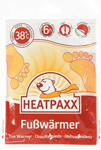 HeatPaxx Fußwärmer – Hauchdünne Zehenwärmer für unterwegs - endlich Wieder warme Füße – 20 x 2 Wärmepads im praktischen Vorteilspack