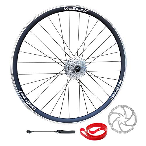 Madspeed7 QR 27.5' 650b (ETRTO 584x19) Mountain Bike REAR Wheel 8 speed Disc Brake
