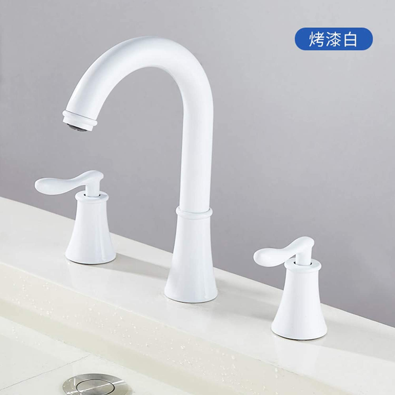 Bathroom Taps Sink Faucet Three Piece Basin Faucet Set Bathroom Sink Tap Basin Sink Mixer Tap