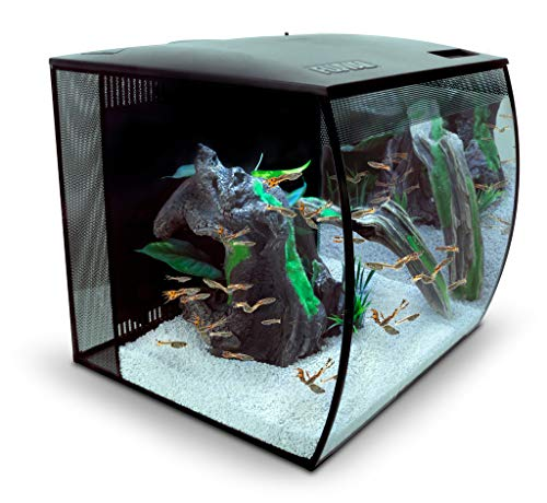 Fluval 15007 Set Aquarium Flex 57 L, schwarz